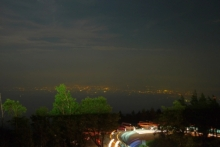ばんちゃんの旅案内 -日本全国自走の旅--前日泊夜景