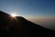 ばんちゃんの旅案内 -日本全国自走の旅--富士山ご来光