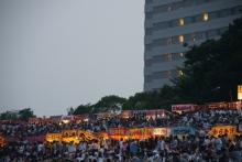 ばんちゃんの旅案内 -日本全国自走の旅--長良川花火大会観覧者
