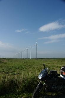 ばんちゃんの旅案内 -日本全国自走の旅--道道106号風車群