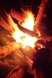 ばんちゃんの旅案内 -日本全国自走の旅--焚き火