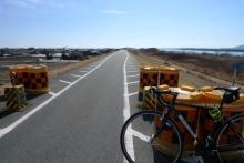 ばんちゃんの旅案内 -日本全国自走の旅--河川敷