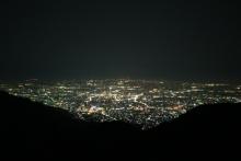 ばんちゃんの旅案内 -日本全国自走の旅--太良峠の夜景
