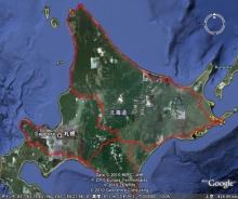 ばんちゃんの旅案内 -日本全国自走の旅--北海道ツーリング行程