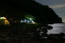 ばんちゃんの旅案内 -日本全国自走の旅--海津大崎キャンプ場
