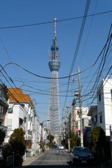 ばんちゃんの旅案内 -日本全国自走の旅--スカイツリー
