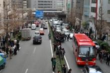 ばんちゃんの旅案内 -日本全国自走の旅--地震直後の渋谷