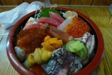 ばんちゃんの旅案内 -日本全国自走の旅--小樽の海鮮丼
