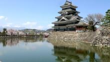 ばんちゃんの旅案内 -日本全国自走の旅--松本城