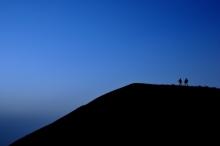 ばんちゃんの旅案内 -日本全国自走の旅--阿蘇の日の出