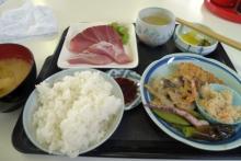 ばんちゃんの旅案内 -日本全国自走の旅--刺身定食
