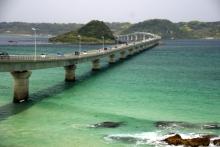 ばんちゃんの旅案内 -日本全国自走の旅--角島大橋