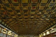 ばんちゃんの旅案内 -日本全国自走の旅--傘松閣の絵天井