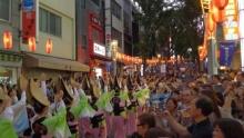 ばんちゃんの旅案内 -日本全国自走の旅--神楽坂まつり 阿波踊り