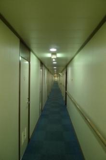 ばんちゃんの旅案内 -日本全国自走の旅--さんふらわあの船内