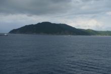 ばんちゃんの旅案内 -日本全国自走の旅--フェリーから見た都井岬