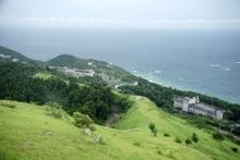 ばんちゃんの旅案内 -日本全国自走の旅--都井岬の扇山