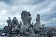 ばんちゃんの旅案内 -日本全国自走の旅--叫びの像