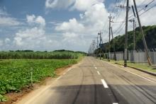 ばんちゃんの旅案内 -日本全国自走の旅--増田宇宙通信所前