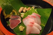 ばんちゃんの旅案内 -日本全国自走の旅--珊瑚礁の夕食