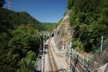 ばんちゃんの旅案内 -日本全国自走の旅--田本駅の立地