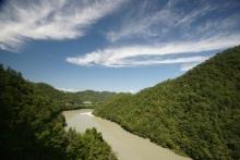 ばんちゃんの旅案内 -日本全国自走の旅--天竜川