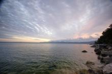 ばんちゃんの旅案内 -日本全国自走の旅--海津大崎からの琵琶湖