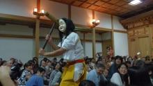 ばんちゃんの旅案内 -日本全国自走の旅--高千穂神社の神楽