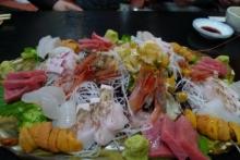 ばんちゃんの旅案内 -日本全国自走の旅--刺身盛り合わせ