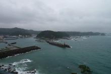 ばんちゃんの旅案内 -日本全国自走の旅--太地の漁港