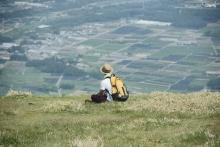 ばんちゃんの旅案内 -日本全国自走の旅--入道が岳頂上