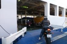 ばんちゃんの旅案内 -日本全国自走の旅--フェリー乗船