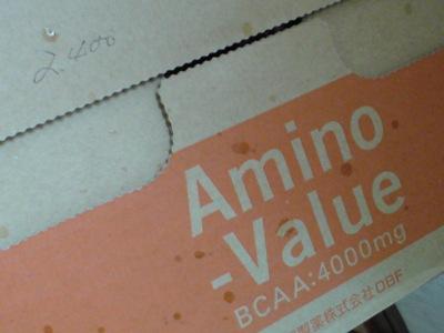 アミノバリュー BCAA4000mg