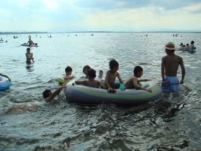 2010ゴムボート1