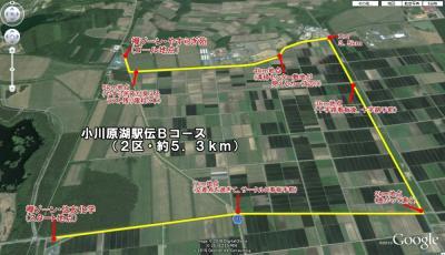 小川原湖駅伝2区の距離