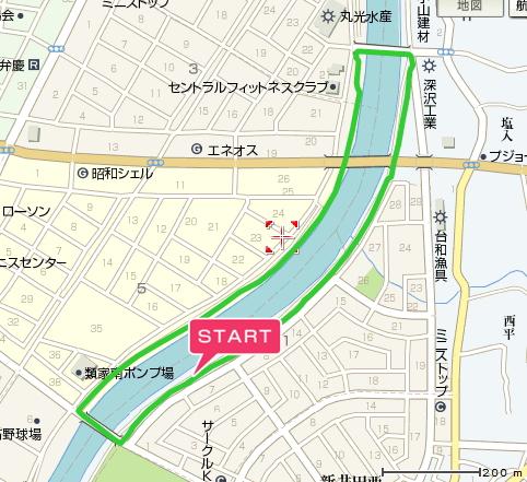 南部地方駅伝コース