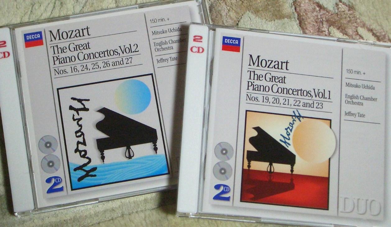 モーツァルト ピアノ協奏曲 内田光子
