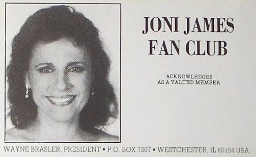 Joni James Fan Club