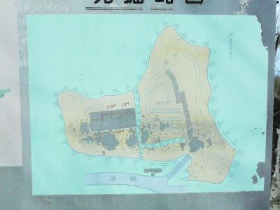 主郭の地図