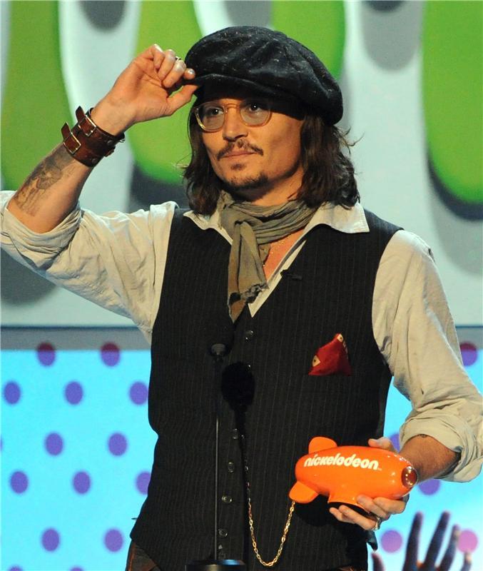 キッズチョイスアワード ジョニーデップ Kids Choice Award Pics 2nd April 2011