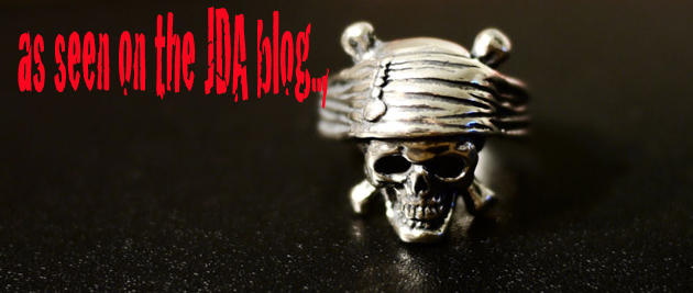 pirates skull crew ring