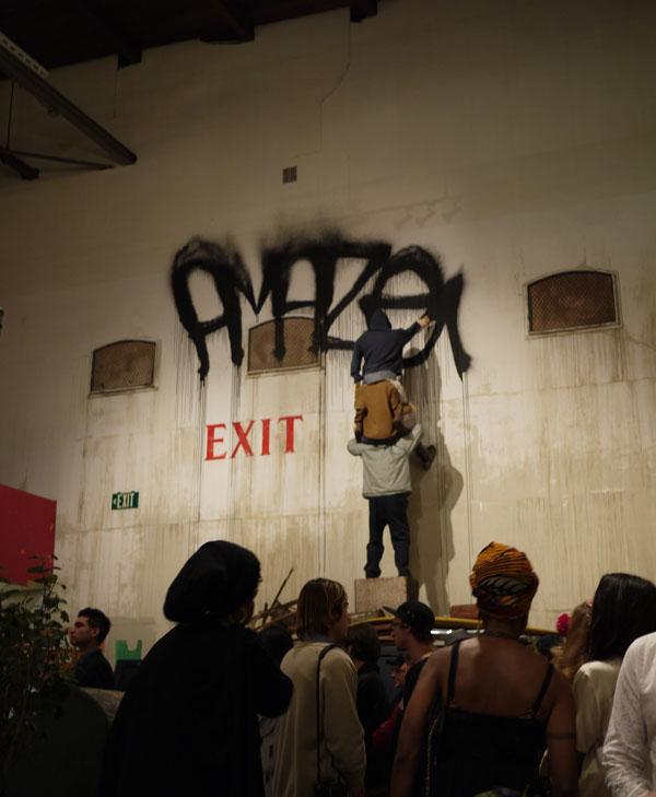 MOCA LA ART IN THE STREET TAGER HEAVEN