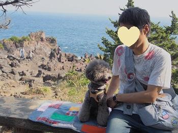 ジジさん城ヶ崎海岸へ20140929-3