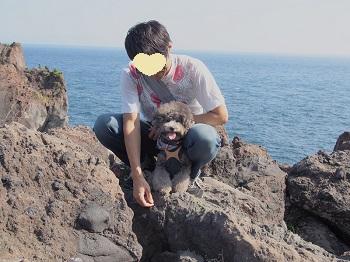 ジジさん城ヶ崎海岸へ20140929-5