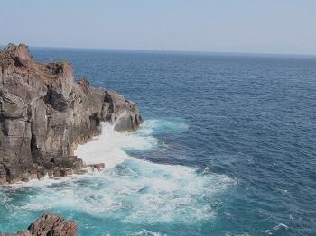 ジジさん城ヶ崎海岸へ20140929-6