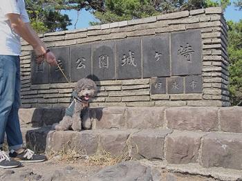 ジジさん城ヶ崎海岸へ20140929-9