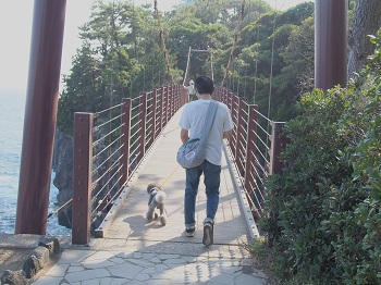 ジジさん城ヶ崎海岸へ20140929-11