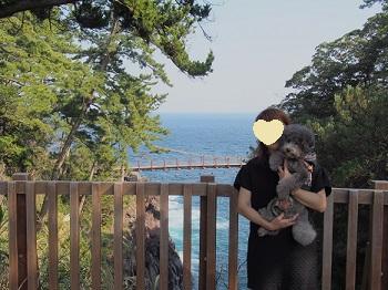 ジジさん城ヶ崎海岸へ20140929-16