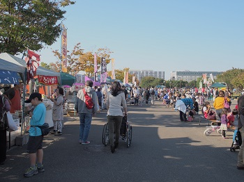 柏の葉公園20141018-2