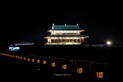 平城宮跡夏夜 (1)